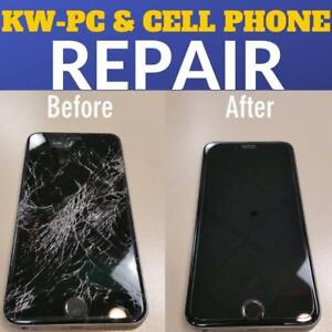 iPhone 6  Screen Repair ?? $20 OFF $20 OFF $20 OFF         (KW-PC CELL PHONES--309 LANCASTER ST WEST KITCHENER)