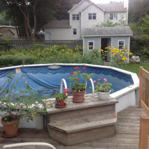 18 ft above ground swimming pool (see description)