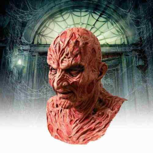 Hot New!! Freddy Krueger Halloween Horror Movies Scary Latex Mask FREE SHIPPING