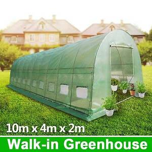10m x 4m Walk-in Polytunnel Greenhouse Dandenong South Greater Dandenong Preview