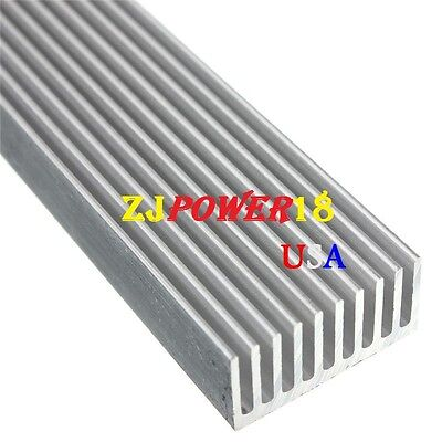 1pc Aluminum Heatsink 300mm25mm12mm For High Power 1w 3w 5w Led Emitter Diodes