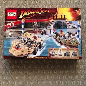 Lego 7197  Indiana Jones Venice Canal Chase