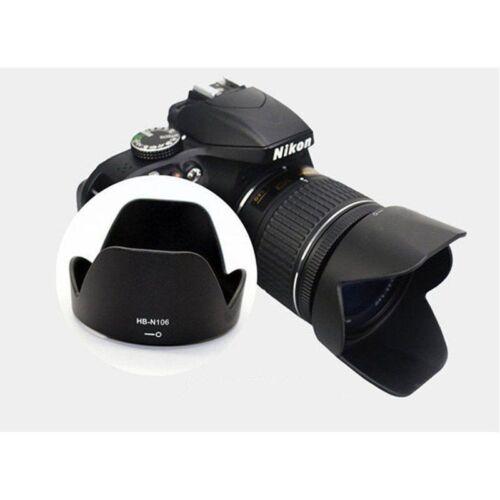 Useful Lens Hood for Nikon D3300 D5300 AF-P 18-55mm f/3.5-5.6G VR as HB-N106