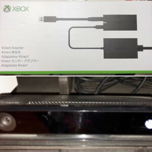 Xbox One Kinect Sensor with Kinect Adapter for Xbox One S