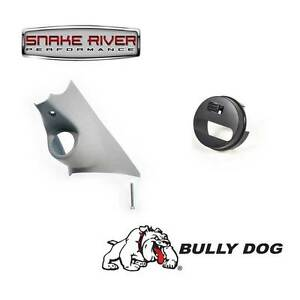 BULLY DOG PILLAR MOUNT WITH ADAPTER 10-17 DODGE RAM 1500 2500 3500 LEATHER DASH