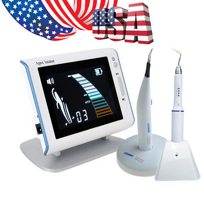 Us Dental Obturation Pen Root Canal Apex Locator Tooth Gum Cutter With 4 Tips