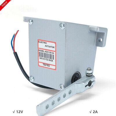 Adc120 12v Electric Controller Motor Actuator Governor Ffuel Pump Diesel Genset