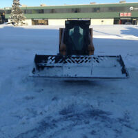 SNOW REMOVAL Skidsteer Contract or By Hour