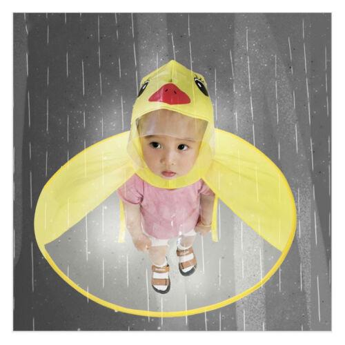 Children/'s Cute Duck Raincoat Rain