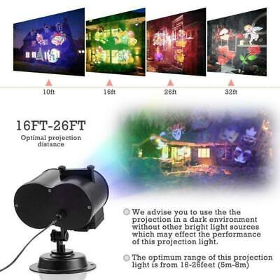 Halloween Light Shows (LED Projector Light Show Halloween Xmas Holiday Decoration 16 Slides Dynamic)