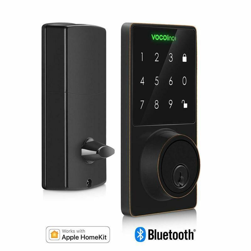 Vocolinc Homekit Smart Lock Bluetooth, Touchscreen Deadbolt,