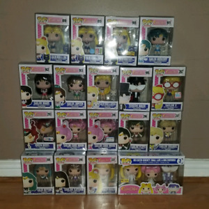 Complete Sailor Moon Funko Pop Animation Set of 20 Figures New