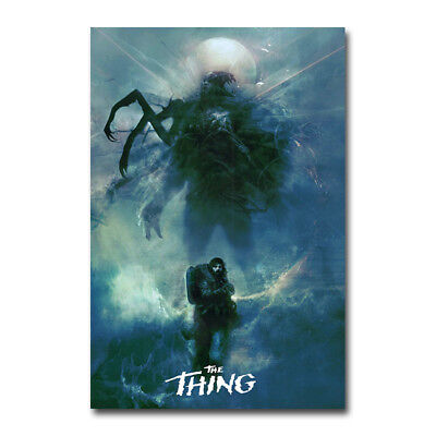 The Thing Classic Horror Movie Silk Poster Canvas Art Prints 12x18 inch