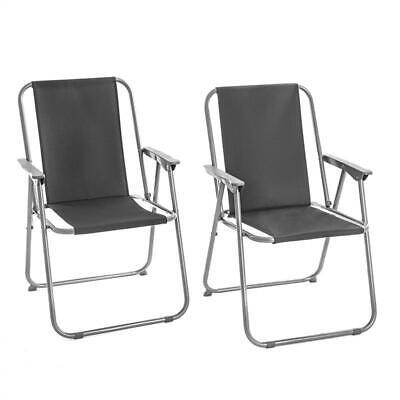 Campingstuhl Klappstuhl Angelstuhl faltbar Outdoor Klappsessel 2er Set Stuhl