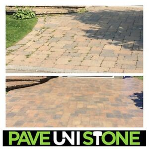 PAVE_UNI STONE - UNISTONE CLEANING & SEALING - PAVER MAINTENANCE West Island Greater Montréal image 6