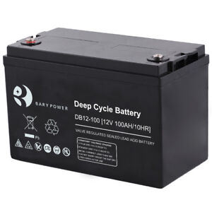 NEW* DEEP CYCLE SOLAR BATTERIES, AGM BATTERY 150ahr *NEW