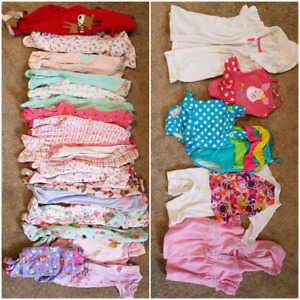 Baby girl clothes sizes 6-12
