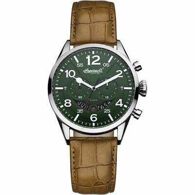 new  Mens Ingersoll Compton Chronograph Watch INQ029GRSL  R.R.P £240 FREE POST