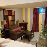 Quality Constructed, Bright 1 BR Basement Apartment- South End