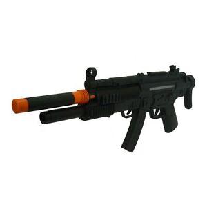 Toy Machine Gun MP5 Battery Powered Plastic Submachine Gun with Shotgun UK Toy