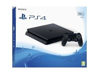 PS4 Slim 500GB - Brand New