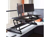 Varidesk - CUBE PLUS 48™ - adjustable standing/sitting desk - £200