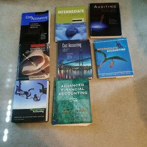 Business Accounting Textbooks - 10 dollars each or 75 for all