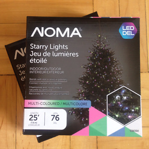 Noma Starry Lights Indoor or Outdoor LED Multi-coloured