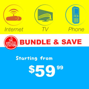 Unlimited Internet+Phone+TV Deal