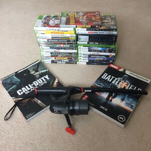 Xbox 360 Collection (27 Games + 2 Guides + Rapala Rod)