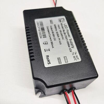 Led Power Supply Driver Adapter 70w With 12v Dc Fan Led Lighting For Grow Light