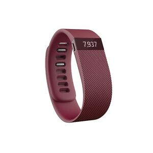 Large Burgandy Fitbit Charge
