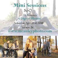 Spring Mini Sessions - Vernon, BC
