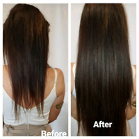 $270 HOLIDAY SPECIAL MICROLINK/TAPE IN HAIR EXTENSIONS 170G