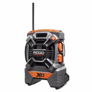 radio de chantier RIDGID