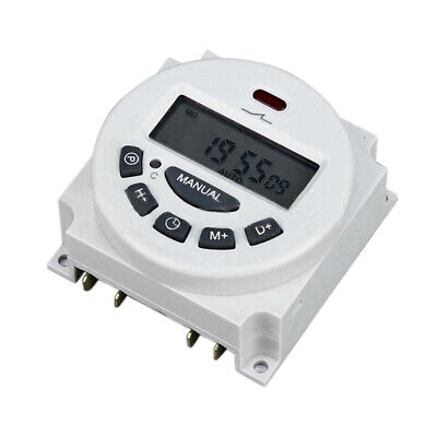 Dc12vac110v220v Digital Lcd Power Programmable Timer Time Switch Relay