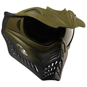 V-Force Grill Thermal Paintball Goggles - Reverse Olive