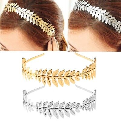 Laurel Hoop Leaf Headband Grecian Headdress Roman Hair Crown Women - Roman Leaves