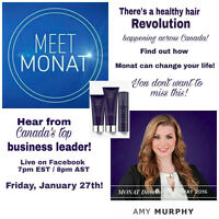 Meet Monat - Transform your hair and your life!
