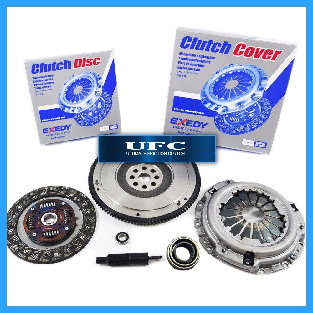EXEDY CLUTCH KIT +UFC FLYWHEEL For 1992-1993 ACURA INTEGRA
