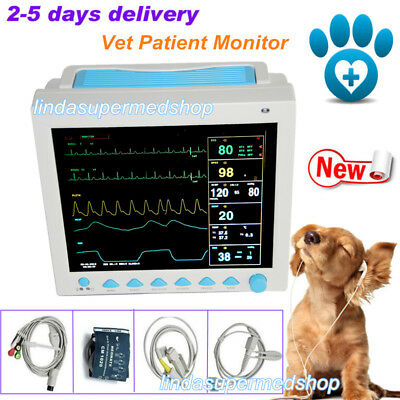 Vet Veterinary Patient Monitor Multiparameter Icu Machine Pet Big Screen Contec