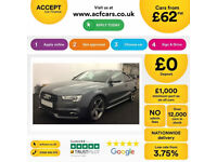 Audi A5 Black Edition FROM £62 PER WEEK!