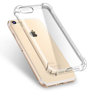 IPhone 8/7 Clear Slim Shockproof Soft Case