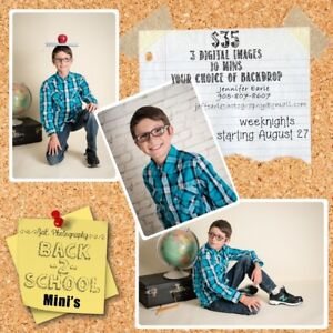 Back to School Photos - Professional and Fun