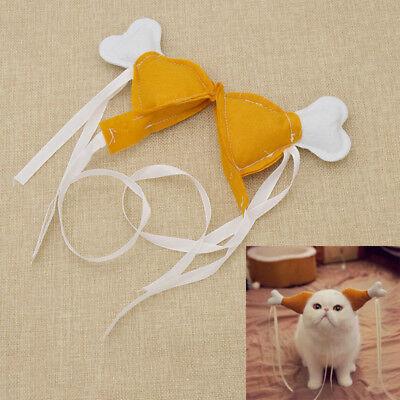 Turkey Chicken Drumstick Headband Dog Chicken Leg Hoop Funny Props Accessories](Chicken Dog Costume)