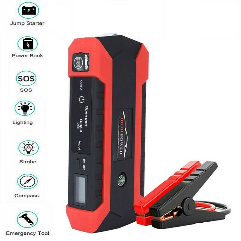 Portable Jump Starter Car Vehicle Battery Emergency Charger