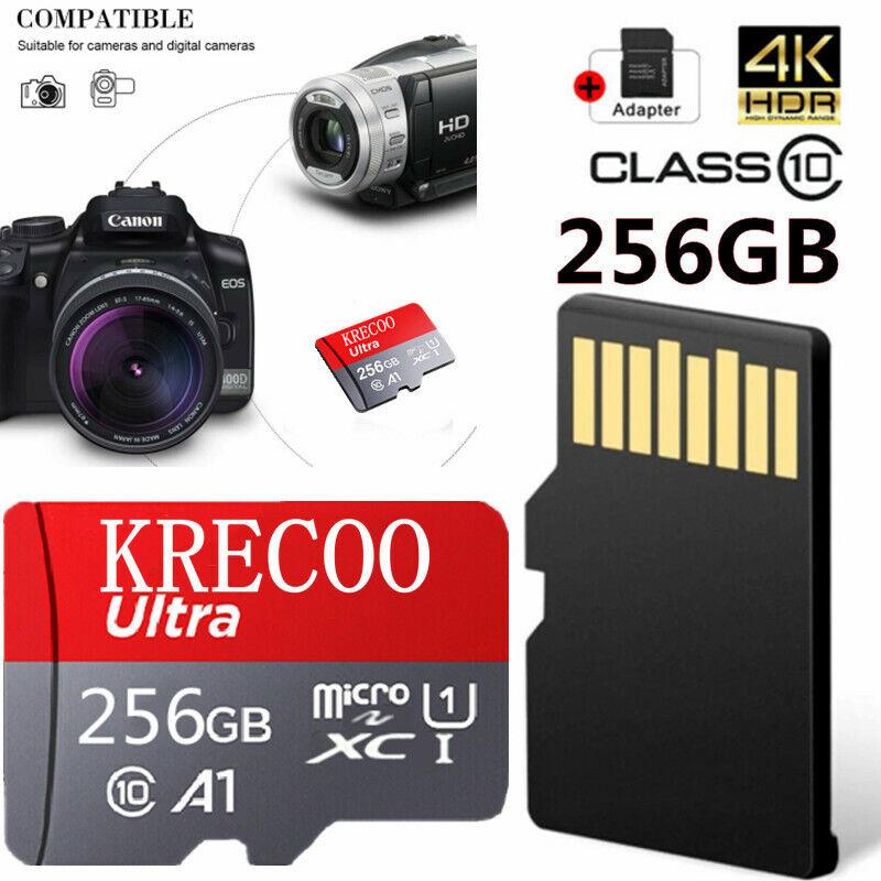 Universal Micro SD Memory Card 128GB/256GB C10 Fast 4K TF Camera Nintendo Switch