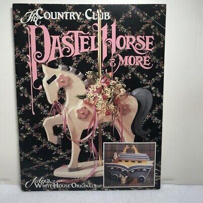 Pastel Horse Tole Painting Book instruction patterns Julie White House Original