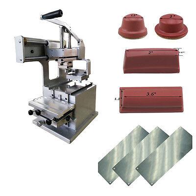 Small Pad Printing Combinationpad Printing Machinepadsplate Kitfor Diy Logos