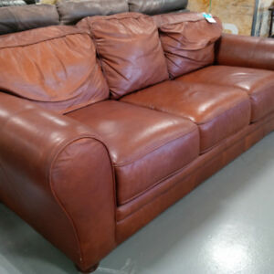 Beautiful orange sofa in great condition only $100
